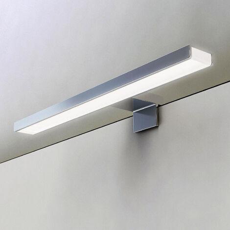 Aplique LED 30cm GUE para iluminación del baño. Iluminación con 51 LEDs que dan 10.2w y 800 lúmenes. Kibath