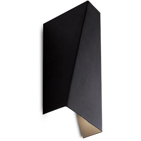 Aplique LED 6W 600Lm Negro Chloe [HO-WALLLIGHT-6W-D-B-W]