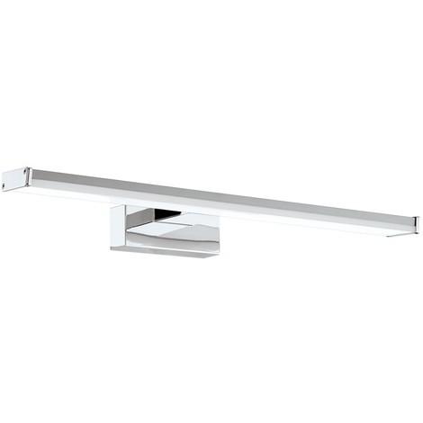 Aplique LED Baño 8W 2835 SMD Cromado