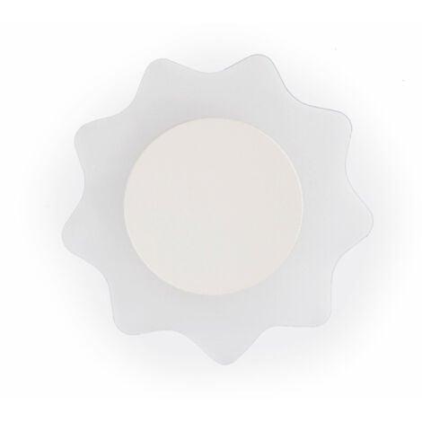 Aplique led de pared luz blanco cálido 6 W WL-STELLA