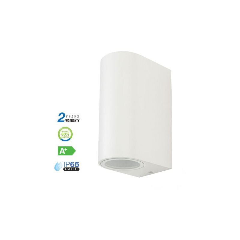 Up /& Down Luz De Pared GU10-V-TAC Blanco