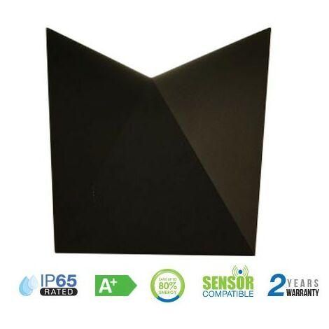 Aplique LED de pared serie Modern 5W 120° IP65 Negro