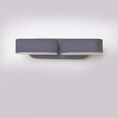 """main image of """"Aplique LED de pared Serie Rotable Double 12W 350° IP65"""""""