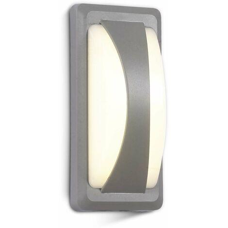 Aplique LED de pared Serie Special Original 12W 130° IP65 Gris