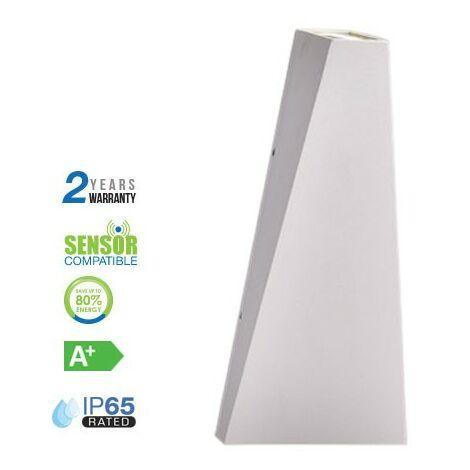 Aplique LED de pared Serie Style 6W 15°/120° IP65 Blanco