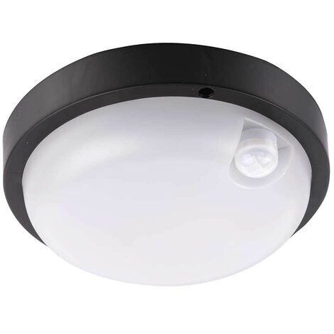 Aplique LED de Techo Descendente 12W 900lm Exterior con Sensor de Movimiento IP65