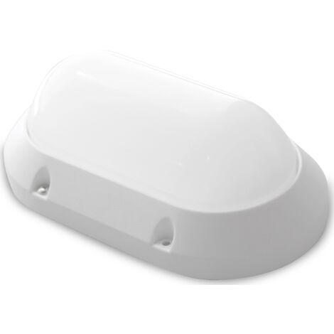 Aplique Led estanco oval blanco 7W 450Lm 3000K (GSC 0702160)