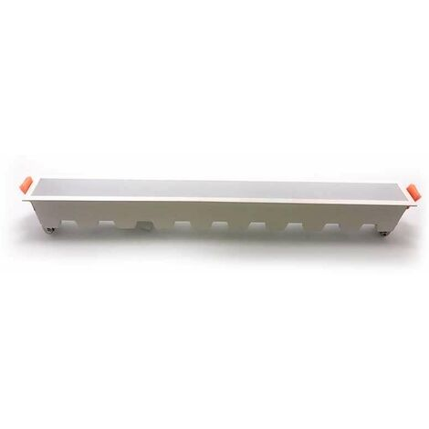 Aplique LED lineal empotrable 30W 120° PRO