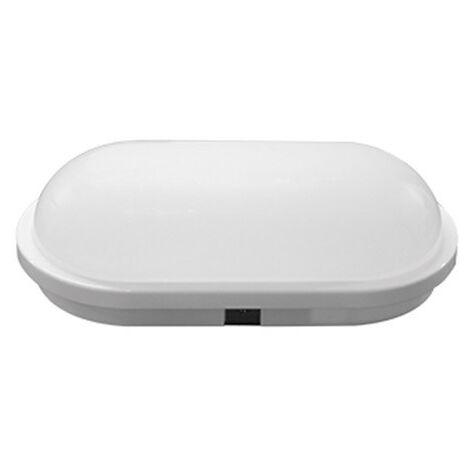 Aplique led oval blanco Lucca 18W 840 IP65 Prilux