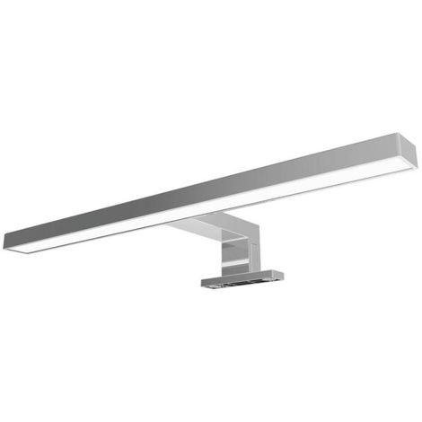 Aplique LED para espejos 800lm 10W - Fijación en espejo, mueble o pared
