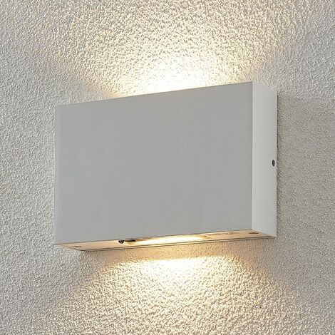 Aplique LED para exterior Katla de aluminio