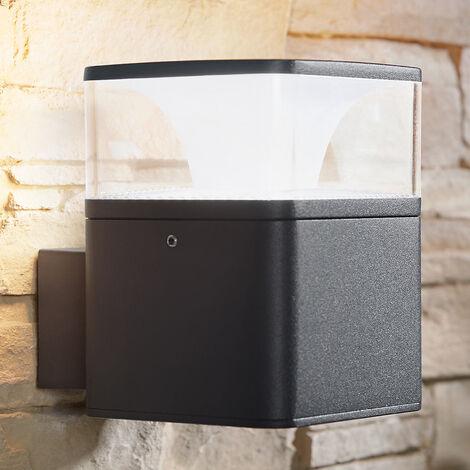 Aplique LED para exterior Lidia de aluminio