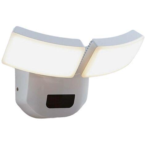 """main image of """"Aplique LED para exterior Nikias sensor, 2 luces"""""""