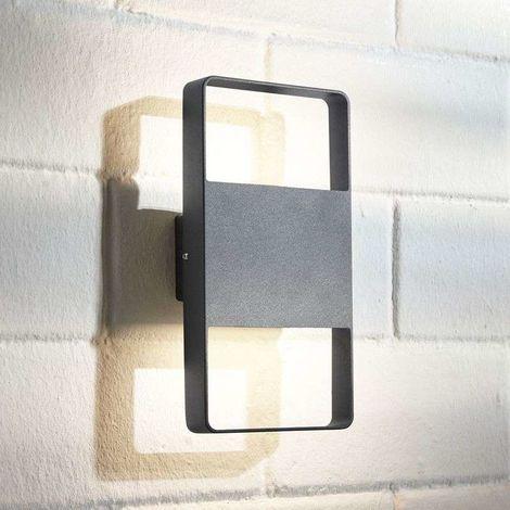 Aplique LED para exterior Palina, 2 luces