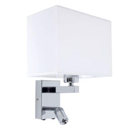 Aplique LED Paradigma cromo/blanco 4000k 3W 29X23X19