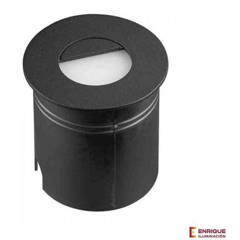 Aplique led pared exterior circular Aspen 7027 luz blanca   Gris oscuro