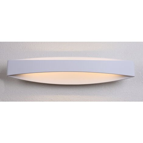 Aplique Led pared tipo canasto 12W 2700Kº 910Lm 440x100mm. (F-Bright 2074017)