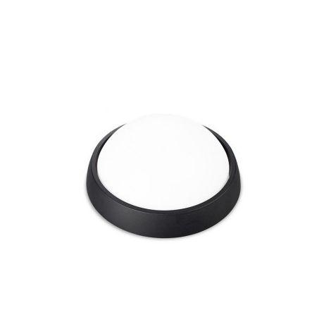 Aplique LED redondo 4W plástico Negro 3000K GSC 0703447