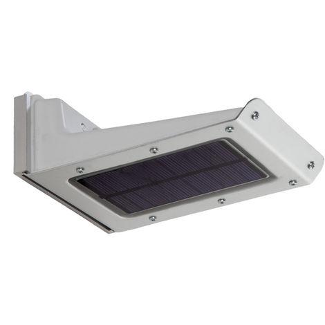 Aplique LED Solar IP65 20x2835SMD Sensor Luz + Movimiento | Blanco Frío (PL-626016-CW)