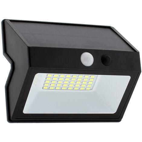 Aplique LED SOLAR PEEL, 20W, negro, Blanco frío