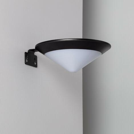 Aplique LED Solar Tucson con Detector de Movimiento Radar IP65 Blanco Frío 5700K - 6200K