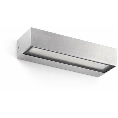 Aplique led superficie Faro Barcelona Toluca 71052 Aluminio