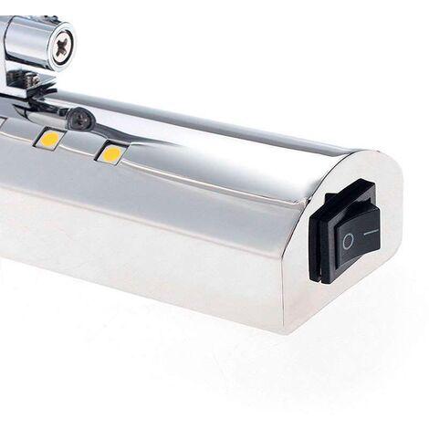 Aplique Led TAX para espejos y cuadros, 70cm, 9W, Blanco neutro