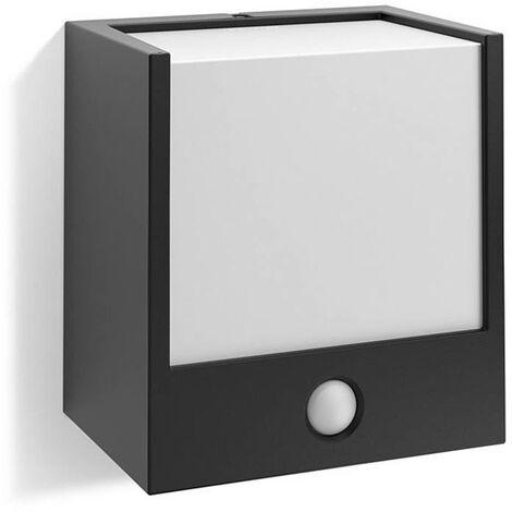 "Aplique ""Macaw"" negro 1 X 3,5 W con sensor"