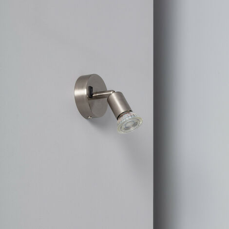 """main image of """"Aplique Orientable Oasis 1 Foco Blanco con Interruptor"""""""