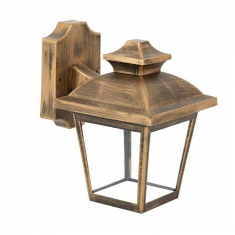 Aplique oro viejo para Exterior modelo Maca, Fabrilamp