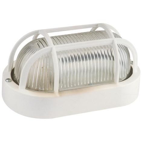 Aplique oval 60 W / 230 VAC Negro Electro Dh 60.245/N 8430552085637