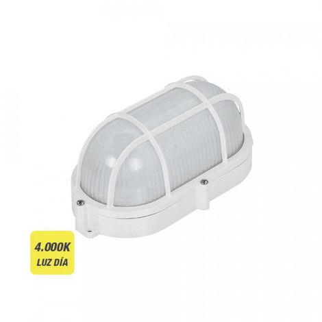 Aplique Oval Rejilla Exterior Led 9W 1080 Lumens Ip65 4.000K - NEOFERR