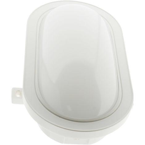 Aplique ovalado LED 15W 1050lm IP44 Blanco - Elexity