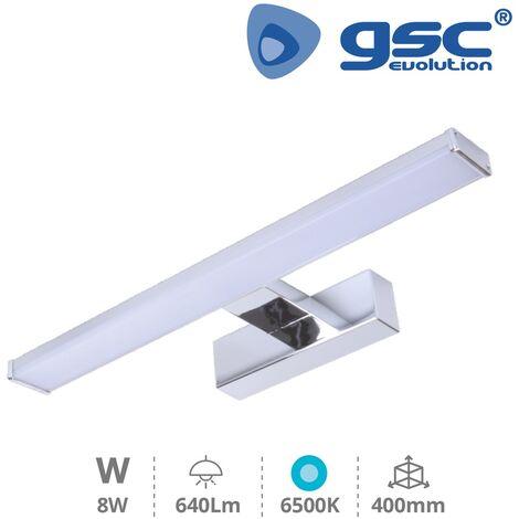 Aplique pared LED Baño 8W 6500K IP44