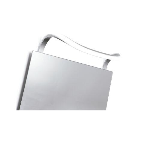Aplique pared LED curvo espejo baño Sisley