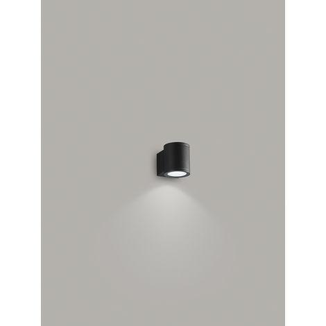 Aplique redondo grafito 1 luz PERENZ PERENZ-6528A