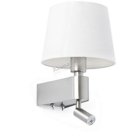 Aplique Room con lector LED (3W)