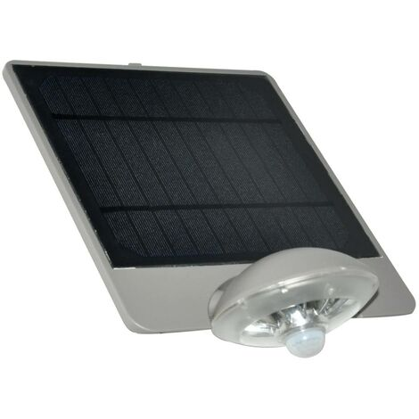 Aplique solar de pared con sensor 3,6 W IP44