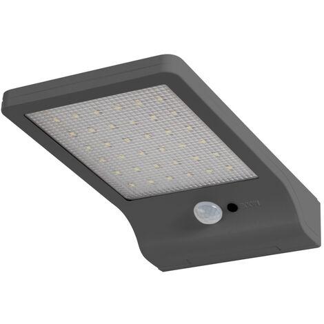 Aplique solar Door Led con sensor 3W 320Lm 4000°K blanco (Ledvance 4058075126046)