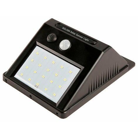 Aplique solar LED con sensor 2,8W Neko Sulion