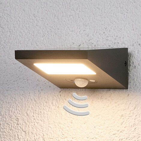 Aplique solar para exteriorFelin luz descendente
