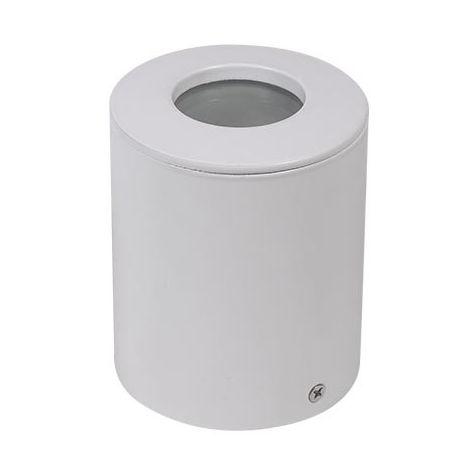Aplique superficie para bombilla LED GU10 Classic Blanco