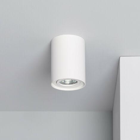 Aplique Techo Cuarzo Aluminio Blanco Blanco