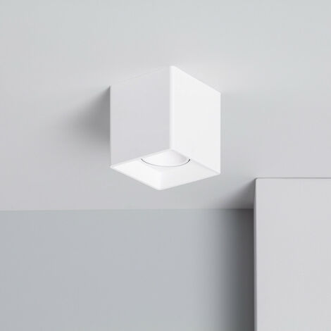 Aplique Techo Jaspe PC Blanco Smart WiFi Regulable RGBW 4W Blanco - Blanco