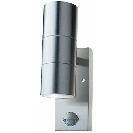 Aplique UPNDOWN design steel para pared IP44 para X2 bombillas GU10