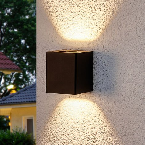 Aplique LED ext. Lukas con filtros decorativos