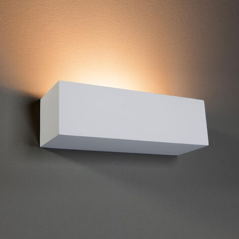 ApliqueLenny rectangular de yeso