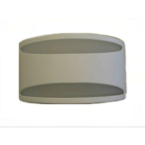 Apliques Augenti Meridian blanco 13W LED 4000K IP65 4500W/NR4.VS.00
