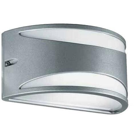 Apliques Augenti Meridiano gris 13W LED 3000K IP65 4500W/WR4.VS.40
