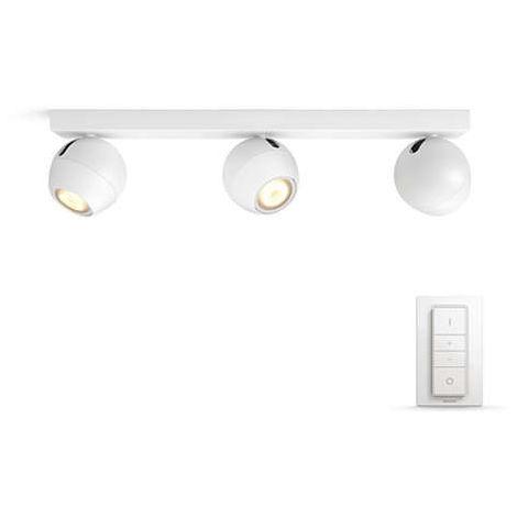 Apliques de 3 Lámparas Philips BOCACÍ TONO Blanco de dimmable 5047331P7